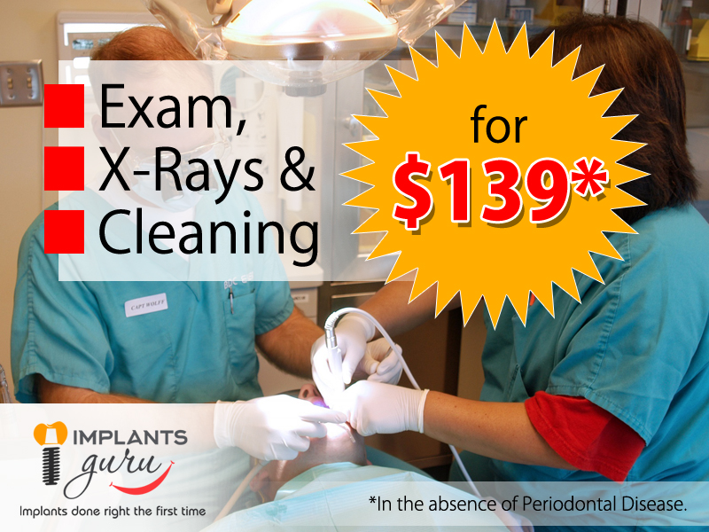 Exam,X-ray,Cleaning Offer