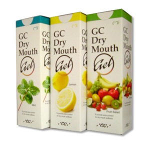 GC Dry Mouth Gel - Lemon, Raspberry, Fruit Salad, Orange